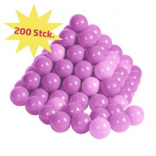 Bälleset Girl sortiert pink / rosa, 200 Stück