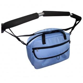 Zekiwa Wickeltasche für Kinderwagen Sport Duo, blau