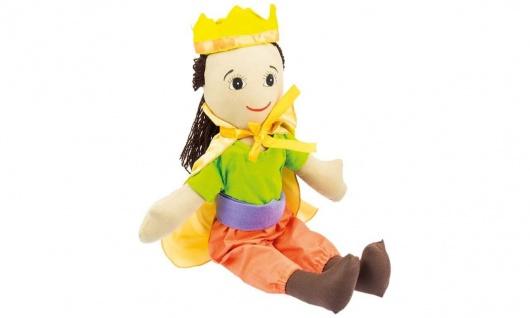 Stoffpuppe Kuschelfreund Prinz