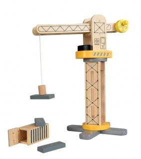 Kinderkran aus Holz - Holzkran für Kinder