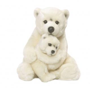 Plüschitier WWF Eisbär mit Baby
