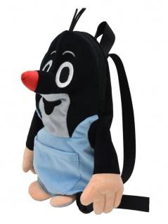 Rucksack Der kleine Maulwurf, mit Hose - Plüschrucksack für Kinder
