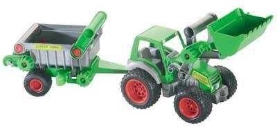 Traktor mit Frontlader und Kipper von wadertoys