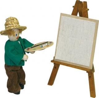 Staffelei mit Skizzenblatt für Puppenhaus