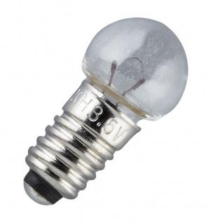 Ersatz-Glühbirne, E 5, 5 Schraubbirne 6 V, 10er Pack