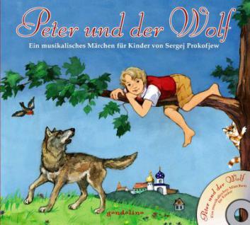 Kinderbuch, Bilderbuch mit CD - Peter und der Wolf