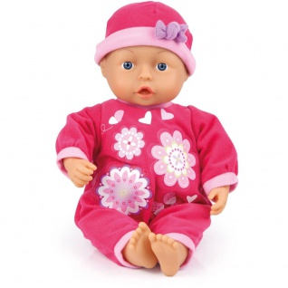 Puppe First Words Baby, 33 cm Farbe pink