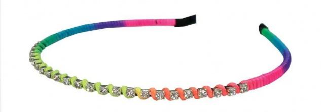 Regenbogen-Haarreifen für Kinder