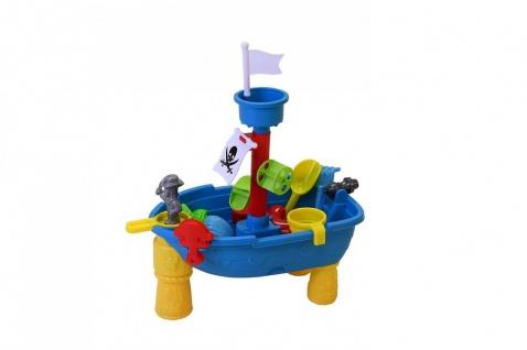 Sand- und Wassertisch - Piratenschiff
