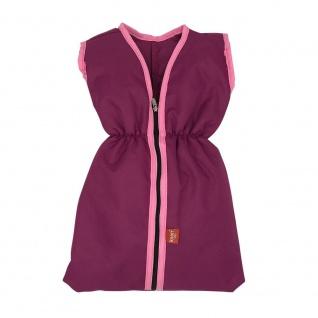 Puppenschlafsack - pink purple, Schlafsack für Puppen