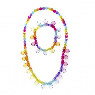 Halskette Bobble Beautiful für Kinder mit Armband, Kinderschmuck