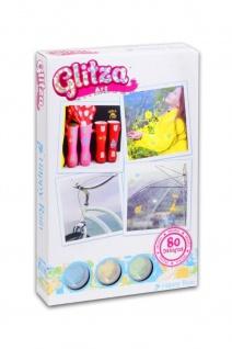 GLITZA ART - Happy Rain, inkl. 80 Tattoos