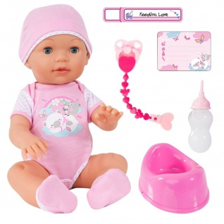 Funktionspuppe Piccolina Love - Babypuppe mit Funktionen