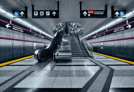 Fototapete Subway