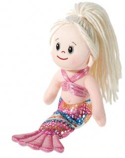 Puppe Poupetta Kleine Meerjungfrau, blond, Grösse 23 cm