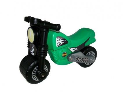 Motorrad, grün
