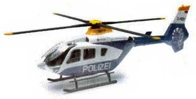 Originalmodelle Eurocopter EC135 Polizei Helicopter von NewRay - Vorschau