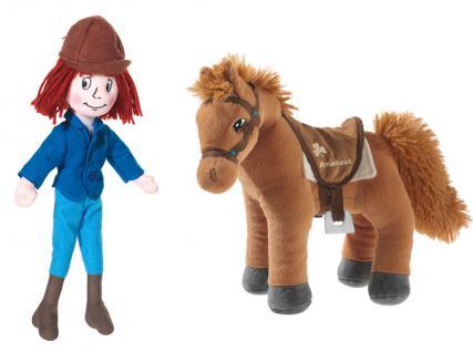 Bibi und Tina - Puppe Tina und Pferd Amadeus im Set