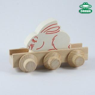 Laufteil für DREWA Kugelbahnen, Bauernhof - Hase