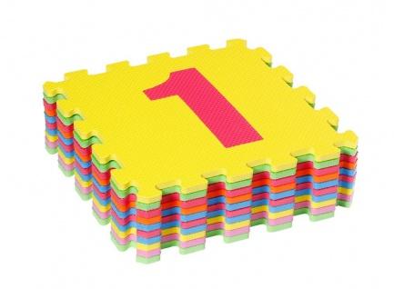 Puzzlematten Zahlen, von 0-9, 10 teilig