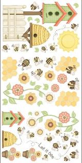 Wandtattoo Room-FX Bienen