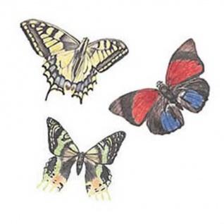 Wandaufkleber Wallies Motiv-Sticker (Cutouts) Butterflies