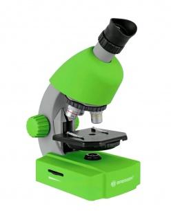 BRESSER JUNIOR Mikroskop 40x-640x grün