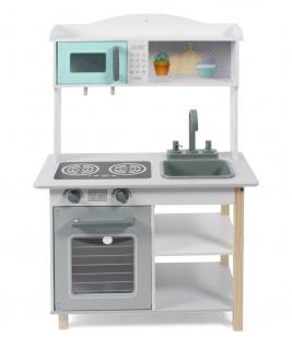Bayer Chic 2000 Spielküche in weiß/grau/mint