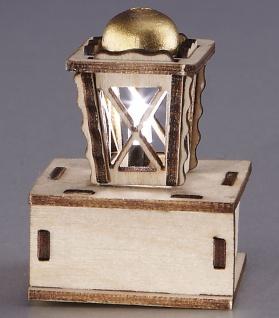 Holzlaterne LED, mini