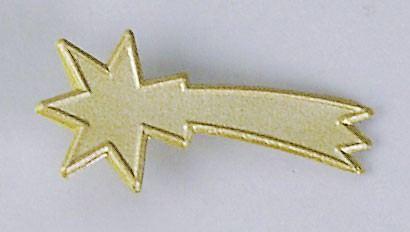 Komet gold, klein, für Krippen, Hobby- und Modellbau