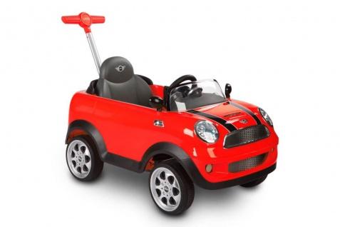 Rutscher MINI COOPER PUSH CAR, rot, bis 20 kg