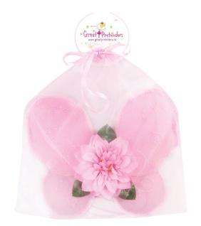 Rosa Blüten-Flügel, klein, für Kinder