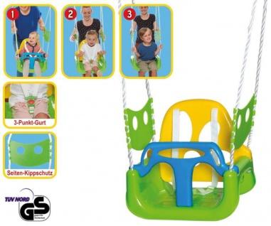3in1 Schaukel für Kinder aus Kunststoff