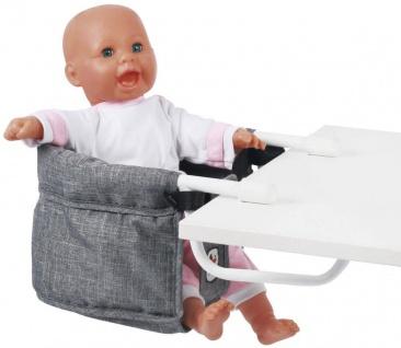Puppen-Tisch-Sitz, Jeans grey