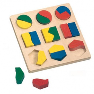 Geometrisches Formenspiel, Abaco, 19-teilig