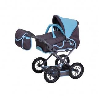 Kombi-Puppenwagen Ruby, tec blue