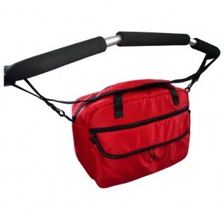 Zekiwa Wickeltasche für Kinderwagen Sport Duo, rot