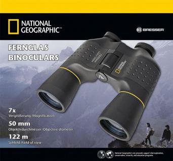 NATIONAL GEOGRAPHIC 7x50 Porro Fernglas