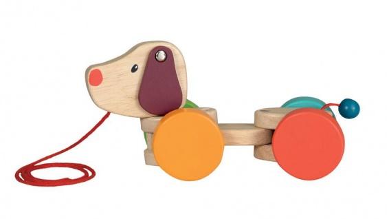 Nachziehtier Pinguin Sir Tom Ziehtier Holzspielzeug aus Ahorn 95.00327LK Spielzeug Baby
