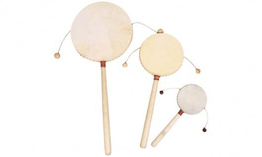 Klangtong - Trommel mit Handgriff, groß, 1 Stück