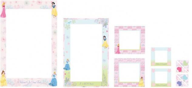 Sticker-Rahmen Princess 6 Rahmen