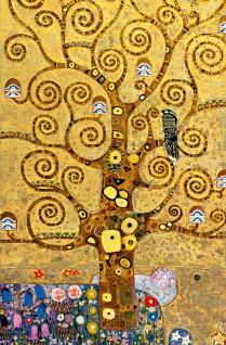 XXL Poster Klimt Kunst Gemälde, Baum des Lebens
