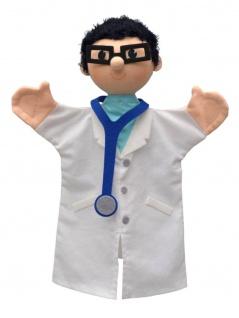 Handpuppe Doktor, 27cm