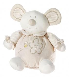 Stofftierchen Bio-Baumwolle Maus Grösse 25 cm