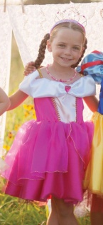 Kinderkostüm Tea Party - Faschingskleid Dornröschen
