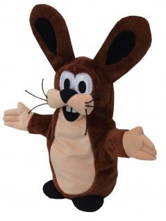 Handpuppe Hase aus der TV-Serie Der kleine Maulwurf, 37 cm
