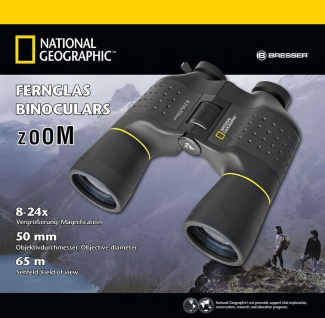 NATIONAL GEOGRAPHIC 8-24x50 Zoom Fernglas