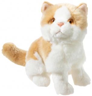 Heunec Plüschtier Misanimo Kätzchen weiß-braun, Kuscheltier