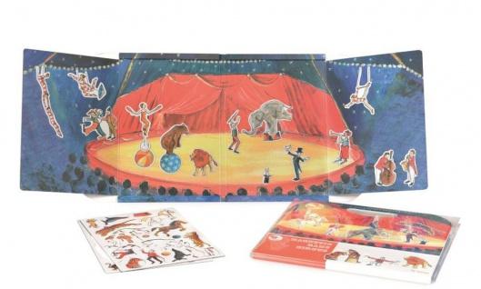 Magnetspiel Zirkus