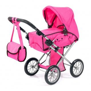 Kombi-Puppenwagen City Star, pink